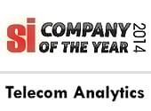 Company of the Year 2014′ Telecom Analytics by SiliconIndia Magazine
