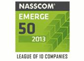 NASSCOM Emerge 50 League of 10 companies