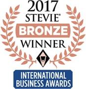Stevie Winner at International Business Awards 2017